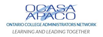 OCAN Ontario College Administrators Network